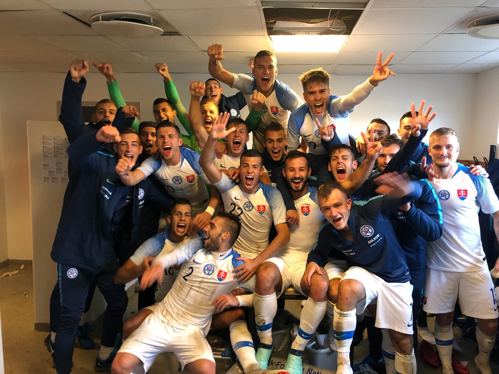 00822b4c51df9 Slovenská futbalová reprezentácia do 21 rokov bude v kvalifikácii o postup  na majstrovstvá Európy tejto vekovej kategórie v roku 2021 v Maďarsku a  Slovinsku ...