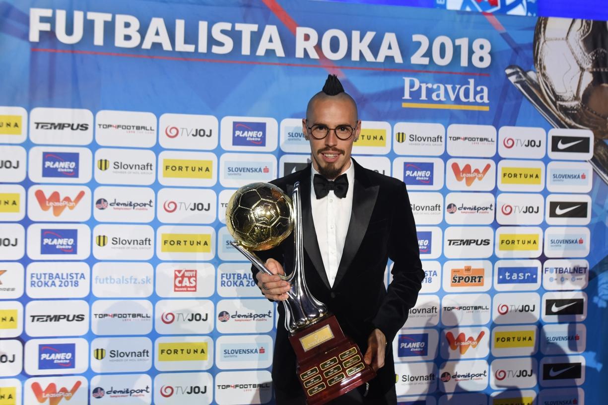 5a5b314d5f019 ... x-bionic v Šamoríne uskutočnilo vyhlásenie výsledkov 26. ročníka ankety  denníka Pravda, na ktorej po 17. raz participoval aj Slovenský futbalový  zväz ...