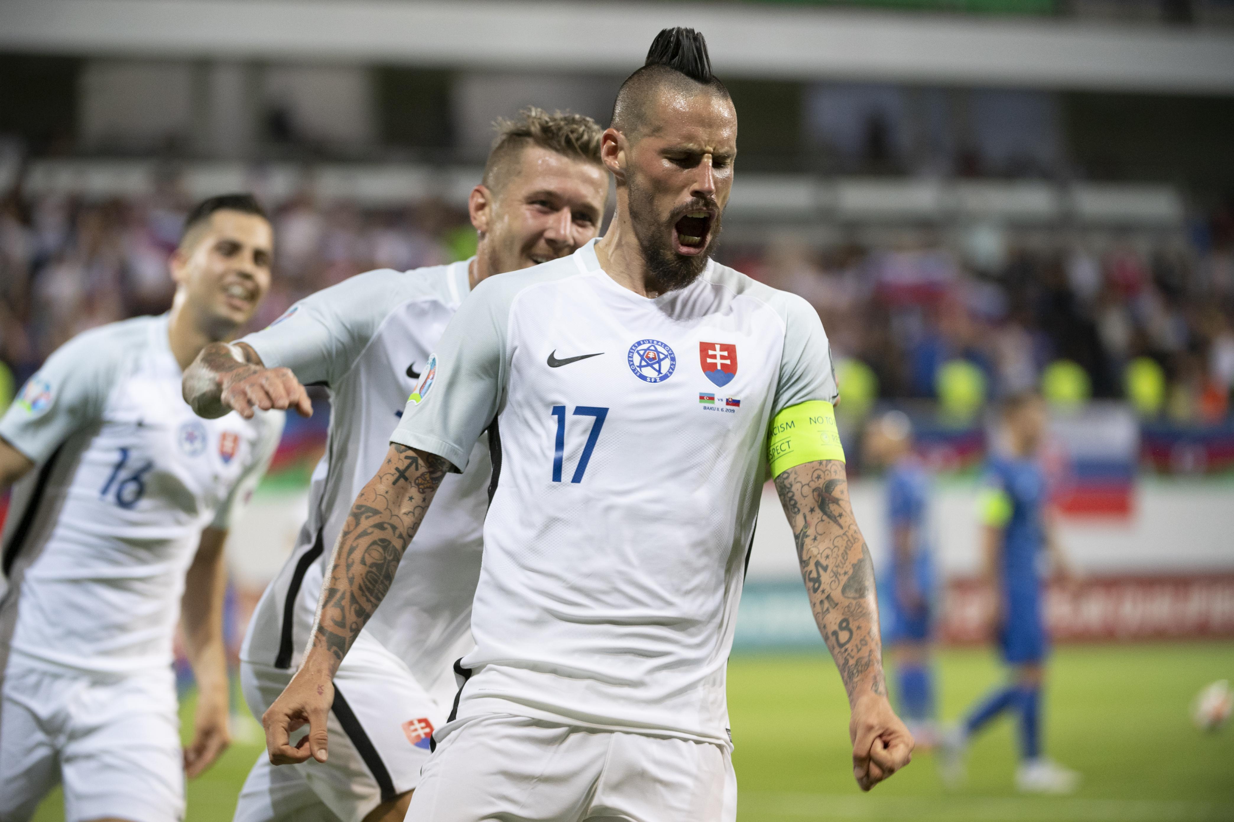 5c14f93b0 Kapitán slovenskej futbalovej reprezentácie to dokázal v utorkovom zápase  E-skupiny kvalifikácie EURO 2020 ...