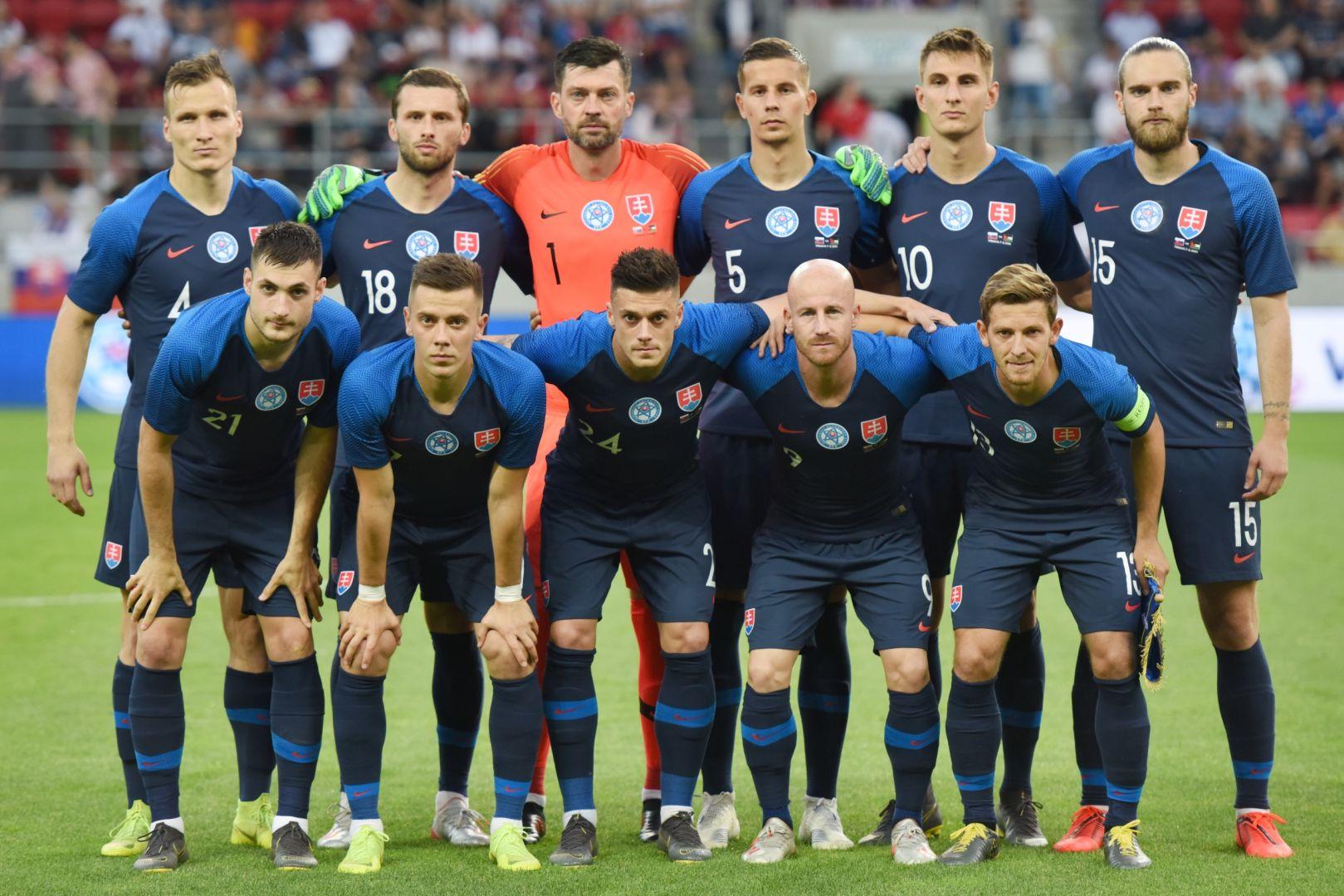 c184709da21fb Slovenskí futbaloví reprezentanti zvíťazili nad tímom Jordánska 5:1 v  piatkovom medzištátnom prípravnom stretnutí v Trnave. Na Štadióne Antona  Malatinského ...